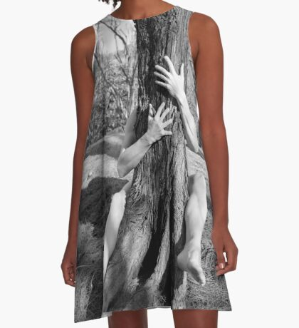 Hands and tree A-Line Dress