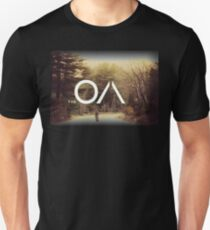 the oa - Photographs of a child swaddled in layers arrive by post. T-Shirt