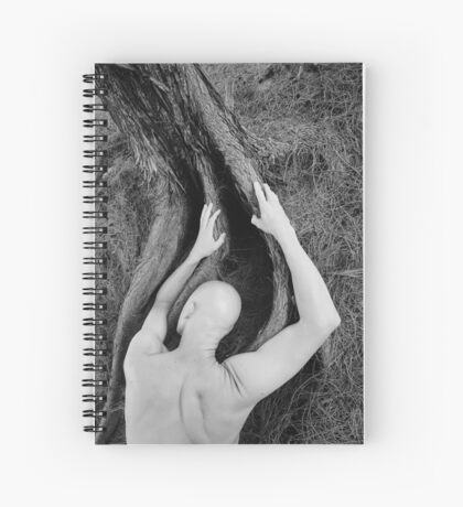 Man and tree Spiral Notebook