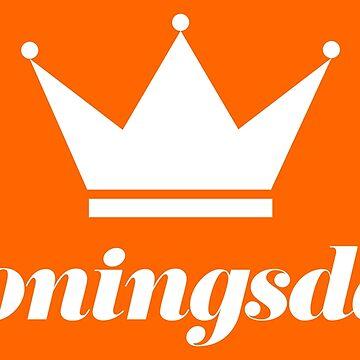 Koningsdag Crown 2019 - King's Day Netherlands Celebration Nederland by ashburg