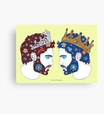 """""""Spiegel, Spiegel an der Wand, wer ist die schönste Königin von allen"""" Canvas Print"""