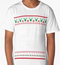 'Merry Christmas Shitters Full' Long T-Shirt