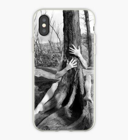 Hands and tree iPhone Case