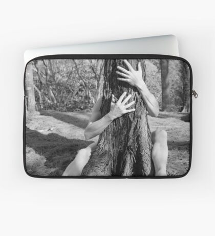 Hands and tree Laptop Sleeve