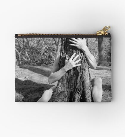 Hands and tree Studio Pouch