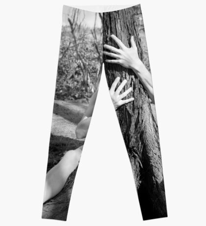 Hands and tree Leggings