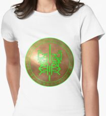 Sigil of earth Women's Fitted T-Shirt