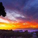 Sunset False Bay by CrismanArt