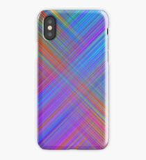 Linear Lanes Abstract Pattern iPhone Case/Skin