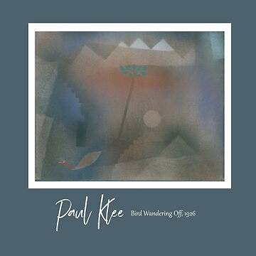 Paul Klee - Bird Walking Away Poster by TheCurators