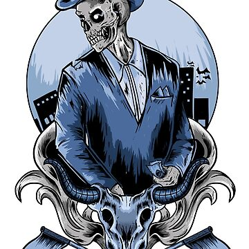 Cowboy skull by Dayone1