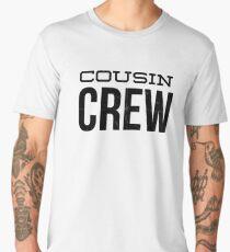 Cool Cousin Crew Shirt Family Birthday Squad Graphic Apparel Men's Premium T-Shirt
