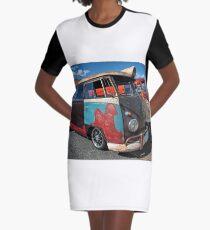Multicoloured. Graphic T-Shirt Dress