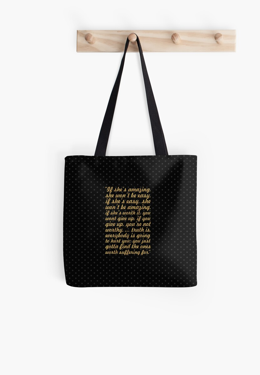 If Shes Amazing Bob Marley Inspirational Quote Tote Bags By