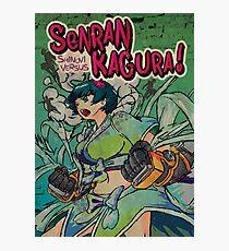Retro 90's Senran Kagura Photographic Print