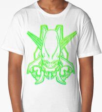 Halo - Legendary Logo (Neon Light Effect Green) Long T-Shirt