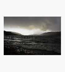 Dark Loch Ness Photographic Print