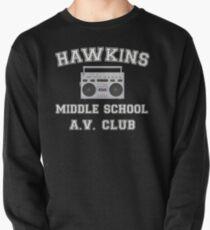 Sudadera cerrada Hawkins Middle School AV Club Cosas extrañas