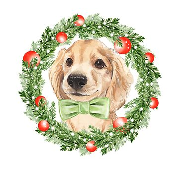 Christmas Dog by Gribanessa