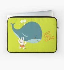 Little but Strong - Whale Housse de laptop