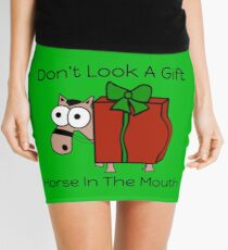 Don't Look A Gift Horse In The Mouth Mini Skirt