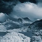 Cradle Mountain infrared by Mel Brackstone