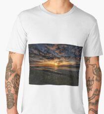 Wintry sunset Men's Premium T-Shirt