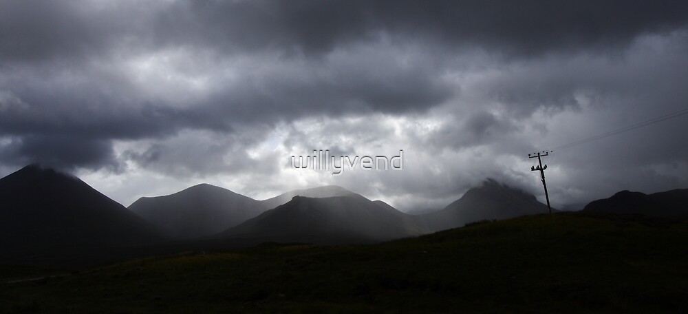 Isle of Skye - Scotland by Willy Vendeville
