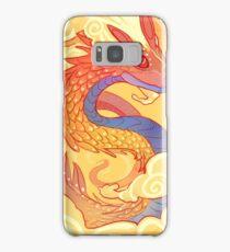 Orange Serpent Samsung Galaxy Case/Skin
