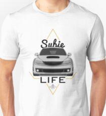 Subie Leben weiß Unisex T-Shirt