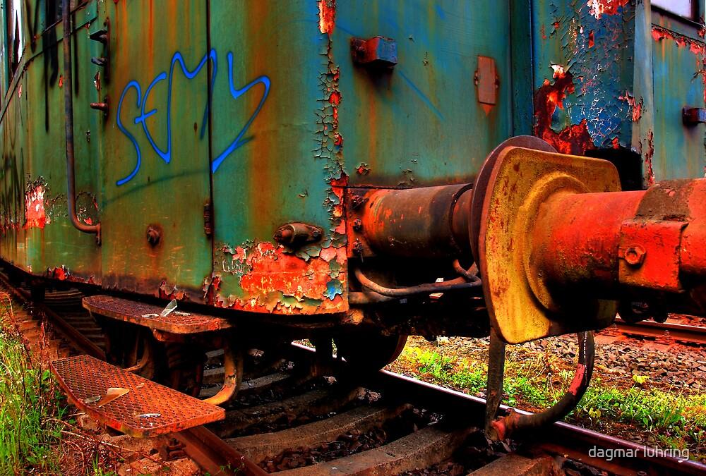 rusty train 1 by dagmar luhring
