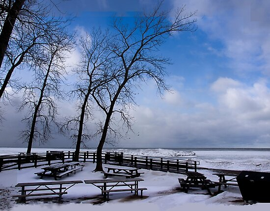 Waiting For Summer - Erie, PA by Kathy Weaver