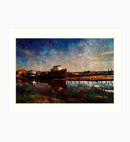 Bridport  Art Print