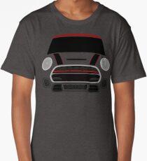Red MINImalism Long T-Shirt