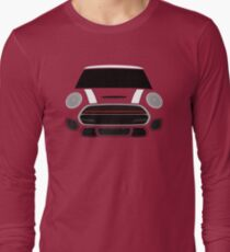 White MINImalism Long Sleeve T-Shirt