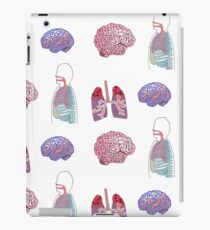Human Body Graphic Collage iPad Case/Skin