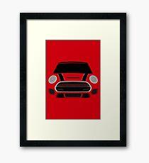 Red italian Job Framed Print