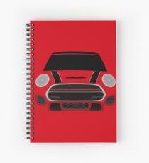 Red italian Job Spiral Notebook
