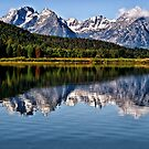 Oxbow Bend - Grand Tetons National Park, Wyoming by Kathy Weaver