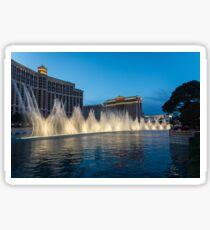 The Fabulous Fountains at Bellagio, Las Vegas Sticker