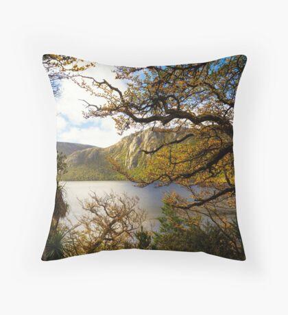 The beautiful Fagus Throw Pillow