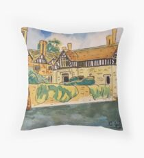 Baddesley Clinton re-visited Throw Pillow