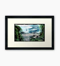 HERE COMES TROUBLE  Framed Print