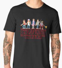 Stranger Things Cartoon Graphic Men's Premium T-Shirt