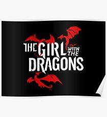 Khaleesi Daenerys Targaryen - The Girl With The Dragons - GOT Daenerys Targaryen Poster