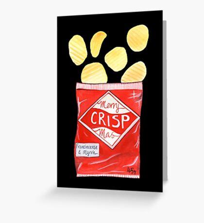 Merry Crispmas Greeting Card