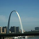 St.Louis Arch by HippiePrincess