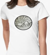 oriental mountain sun. T-Shirt