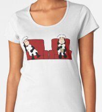 Schafe im Kino Frauen Premium T-Shirts