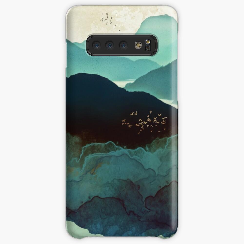Indigo Mountains Case & Skin for Samsung Galaxy